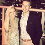 Jared Londry with Fiance